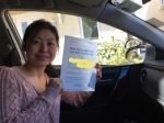 Sophie passed with Sophie's School of Motoring