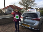 Sundas passed with Sophie's School of Motoring