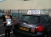 Verity passed with Sophie's School of Motoring
