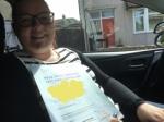 Viktoria passed with Sophie's School of Motoring