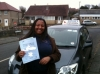 Whitney passed with Sophie's School of Motoring