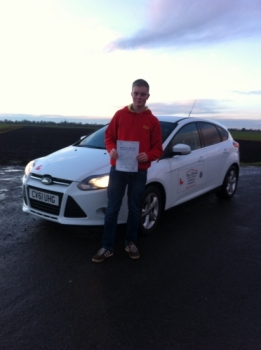 Congratulations to Liam from March who passed his test on 13th January...