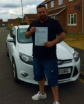 Adam passed with You Drive School Of Motoring