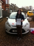Alison passed with You Drive School Of Motoring