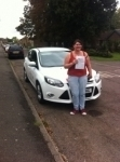 Amy from Manea passed with You Drive School Of Motoring