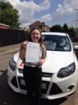 Anna passed with You Drive School Of Motoring