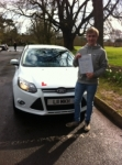 Callum passed with You Drive School Of Motoring