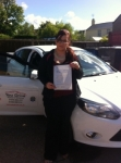 Cass passed with You Drive School Of Motoring