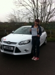 Deesa passed with You Drive School Of Motoring