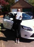 Emma passed with You Drive School Of Motoring