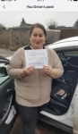 Sara passed with You Drive School Of Motoring
