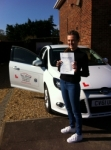 Gina passed with You Drive School Of Motoring