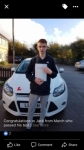 Jack passed with You Drive School Of Motoring