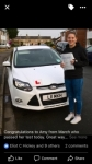 Amy passed with You Drive School Of Motoring