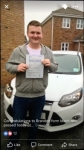 Brandon passed with You Drive School Of Motoring