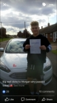 Morgan passed with You Drive School Of Motoring
