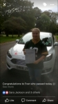 Fran passed with You Drive School Of Motoring