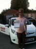 Robbie passed with You Drive School Of Motoring