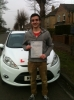 Congratulations to Kirby from March who passed his test on 4th March passed with You Drive School Of Motoring