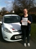 Congratulations to Katie from Bemwick who passed her test on 11th March passed with You Drive School Of Motoring