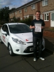 Congratulations to Ollie from Wisbech who passed his driving test on the 29th July in Kings Lynn passed with You Drive School Of Motoring