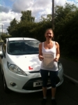 Congratulations to Wioletta from Chatteris who passed her driving test on the 19th August passed with You Drive School Of Motoring