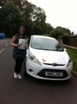 Congratulations to Tayla from March who passed her driving test on the 23rd  September passed with You Drive School Of Motoring
