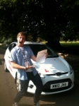 Jordan from March passed with You Drive School Of Motoring