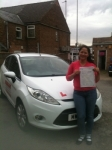 Congratulations to Nancy from March who passed her driving test on the 2nd July passed with You Drive School Of Motoring