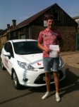 Congratulations to Jack from March who passed his driving test on the 23rd July passed with You Drive School Of Motoring