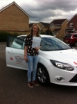 Jessica passed with You Drive School Of Motoring