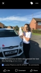 Katie passed with You Drive School Of Motoring