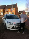Keira passed with You Drive School Of Motoring