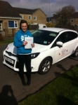 Megan passed with You Drive School Of Motoring