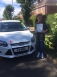 Rhianna passed with You Drive School Of Motoring
