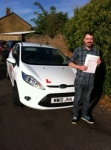 Congratulations to James from Chatteris who passed his driving test on 7th October. passed with You Drive School Of Motoring