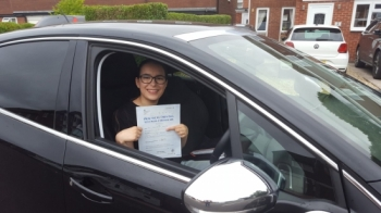 Thankyou to Bradley for helping me to pass my driving test first time, you were an excellent instructor..<br /> <br /> Passed Thursday 6th August 2020. <br /> <br /> Twin sister to Chloe Gardener who passed on 5th August 😊