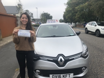 I just passed my test with two minor faults on my first attempt. It's been a pleasure train with Shaun. I 100% Recommend it to everyone! Thank you Shaun :)Passed Tuesday 22nd September 2020