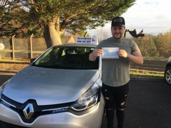 Highly recommend, I started with a previous instructor and that never worked out. So contacted 'Shaun' at StreetDrive, he had me booked in on a 15hour driving course. <br /> <br /> <br /> <br /> I started my course two weeks after I first contacted him and passed 'first time'. <br /> <br /> <br /> <br /> Very easy to get along with, nice bloke that knows exactly what he is talking about, will get you passed without a doubt. Thanks again Ale