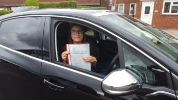 Passed my test 1st time today.   So pleased couldn´t have done it without the support of my driving instructor (Bradley) Thankyou..   Passed Wednesday 5th August 2020....