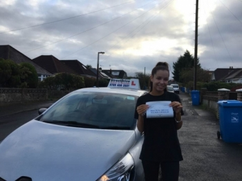 Thanks to Shaun helping me pass my test, I passed first time with StreetDrive ! <br />