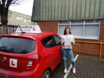 'Andy' is a brilliant instructor! Clear, helpful, patient and encouraging. After a couple a failed previous attempts at my test, Andy got me over the line at last. <br /> <br /> I would highly recommend Andy to anyone in the Wiltshire area. Chelsea - Passed Friday 6th December 2019.