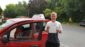 Congratulations to Daniel Wright who passed his driving test 1st Attempt today at Chippenham DTC very well done we are delighted for you<br /> <br /> <br /> <br /> Congratulations from your instructor Bradley and ALL of us at StreetDrive School of Motoring may we wish you many years of safe driving - Passed Tuesday 12th July 2016