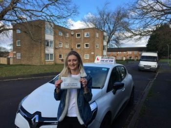 'Louise' is a brilliant driving instructor who made me feel very comfortable and confident in myself, I passed '1st attempt', never thought I would. <br />
