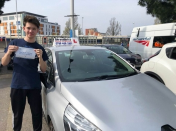 I passed my driving test today with 'Shaun', he made everything simple and straight forward. <br />