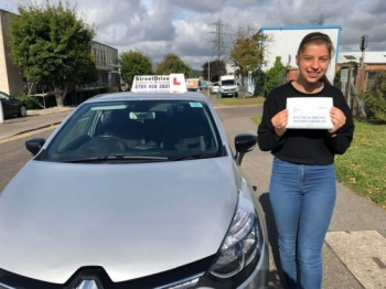 """Beep, beep, congratulations """"Helen Corbin"""" who passed her driving test today at Poole DTC, it was her '1st' attempt with StreetDrive, with just the """"FOUR"""" driving faults, so happy for you.<br /> <br /> Congratulations from your instructor """"Shaun"""" and ALL of us at StreetDrive (SoM), drive carefully, keep safe 🚘 - Passed Friday 30th August 2019."""