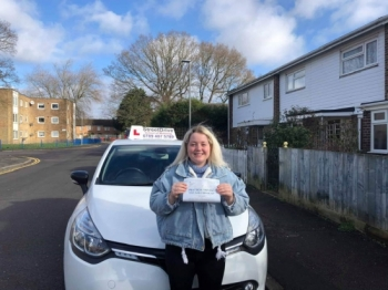 """Congratulations """"Jamiee Smith"""" who passed her driving test """"1st"""" attempt, at Poole DTC, we are delighted for you, very well done.<br /> <br /> Congratulations from your instructor """"Louise"""" and ALL of us at StreetDrive (SoM), drive carefully, keep safe 🚘 - Passed Wednesday 26th February 2020."""