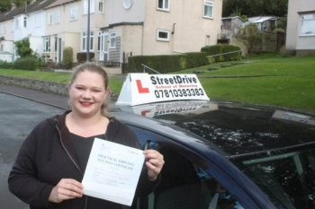 """Beep, beep, congratulations 'Jo Adams"""" who passed her driving test at Chippenham DTC, just the """"SIX"""" driving faults, we are ALL delighted for you.<br /> <br /> Congratulations from your instructor 'Philip' and ALL of us at StreetDrive (School of Motoring), may we wish you many years of safe driving - Passed Wednesday 2nd October 2019."""