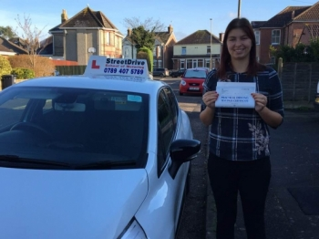 "Delighted for �Joanna Davis� who passed the new ""SatNav� driving test today at Poole DTC, it was her ""1st Attempt�, such fantastic news - Passed Tuesday 30th January 2018. <br />