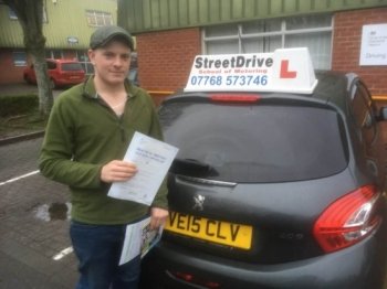 "Congratulations to ""Josh Masters' who passed the new ""SatNav"" driving test today at Chippenham DTC, was his ""1st Attempt"", fantastic news.<br />